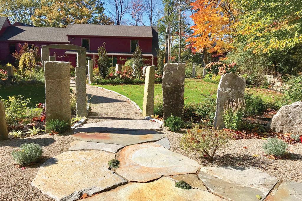 James Brewer Garden Design New Hampshire Home Magazine