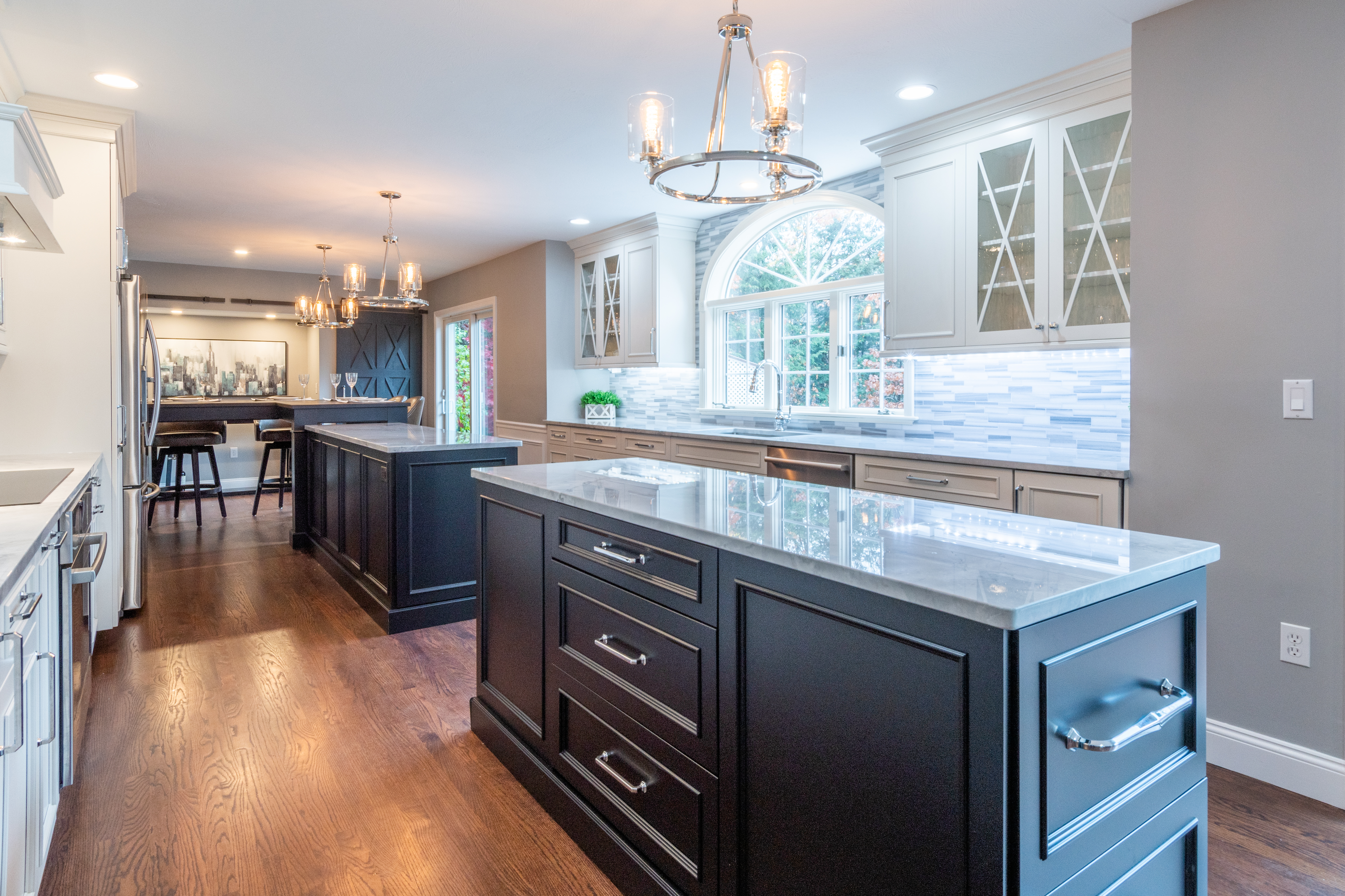 2020 Excellence In Kitchen Design Renovation Honorable Mention Bedford Elegant Kitchen New Hampshire Home Magazine