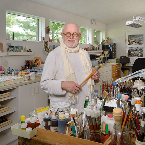 Children's book author/illustrator Tomie dePaola
